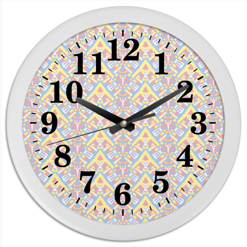 Часы круглые из пластика Printio Ngjjvbn480 цена