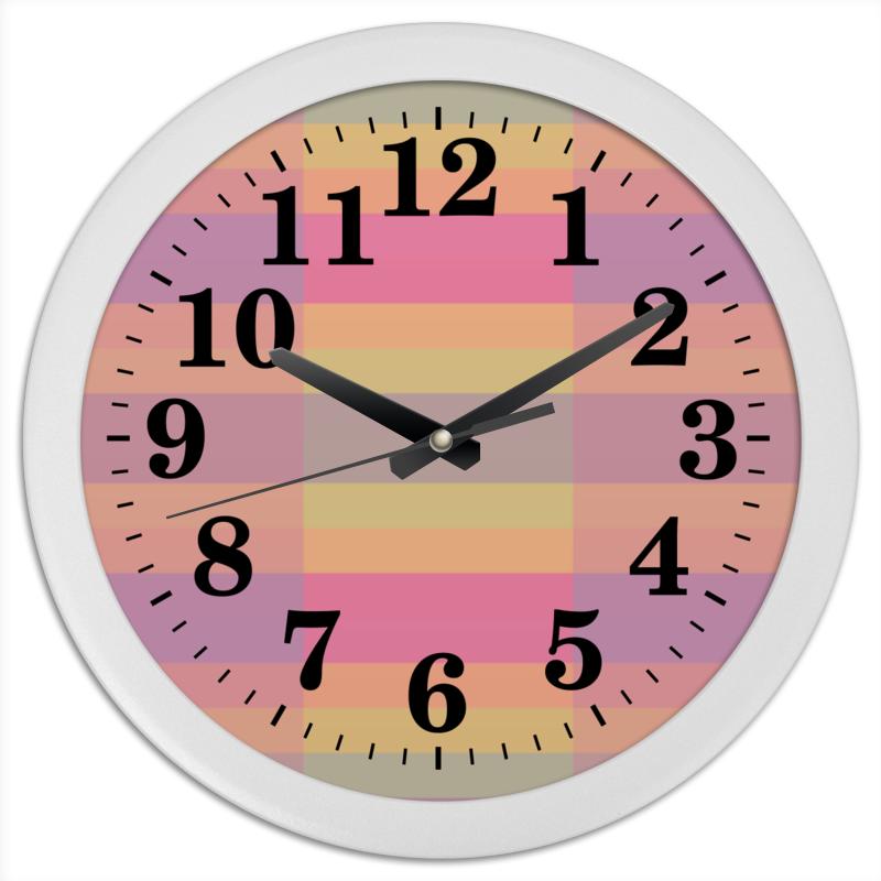 Часы круглые из пластика Printio Tf3olo