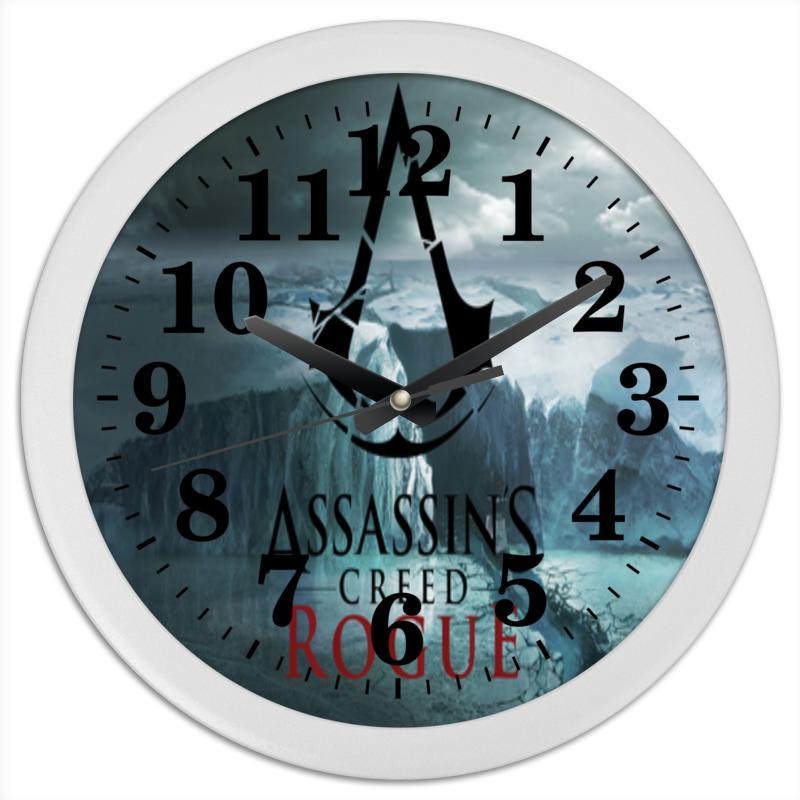 Часы круглые из пластика Printio Assassins mont blanc круассаны мини анжуйская клубника 200 г
