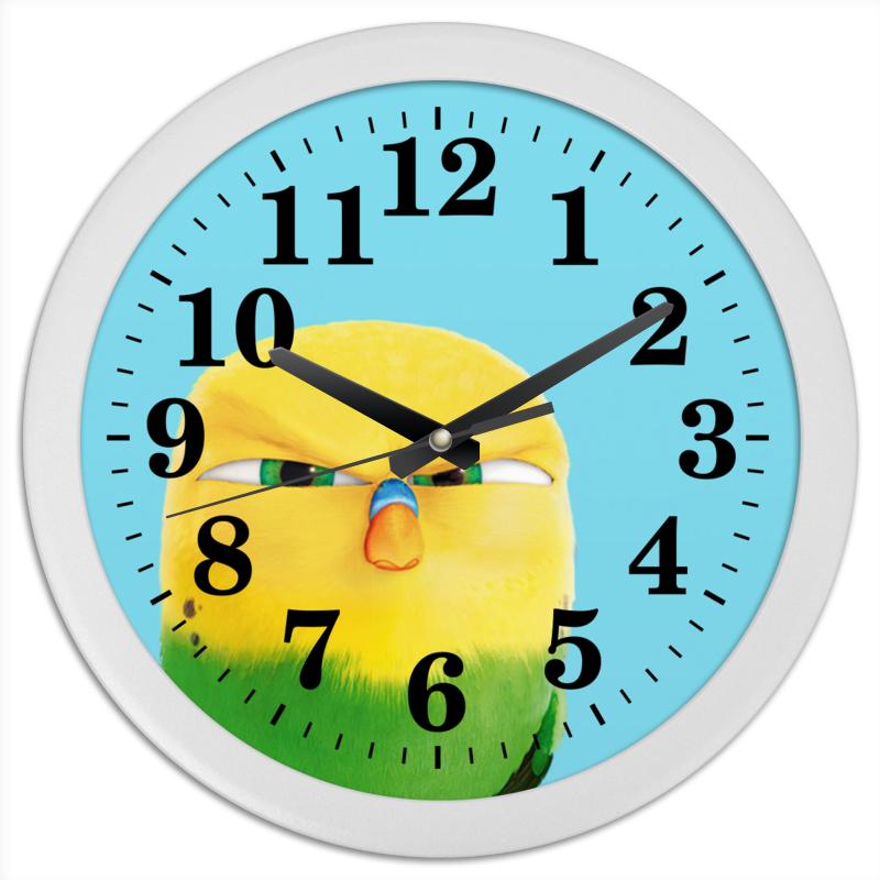 Часы круглые из пластика Printio Свити часы круглые из пластика printio the nexus