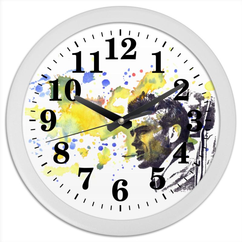 Часы круглые из пластика Printio James dean джеймс дин этта джеймс etta james hickory dickory dock