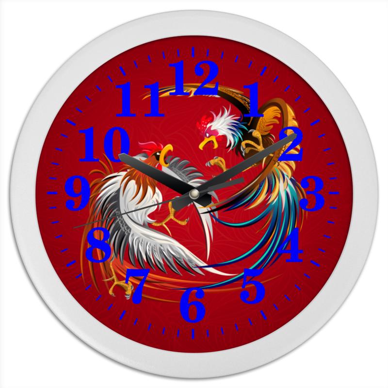 Часы круглые из пластика Printio Новый год 2017 часы я zhuolun мужские часы 2017 новый простой корейский моды большой набор новый yzl0558th 2 page 4