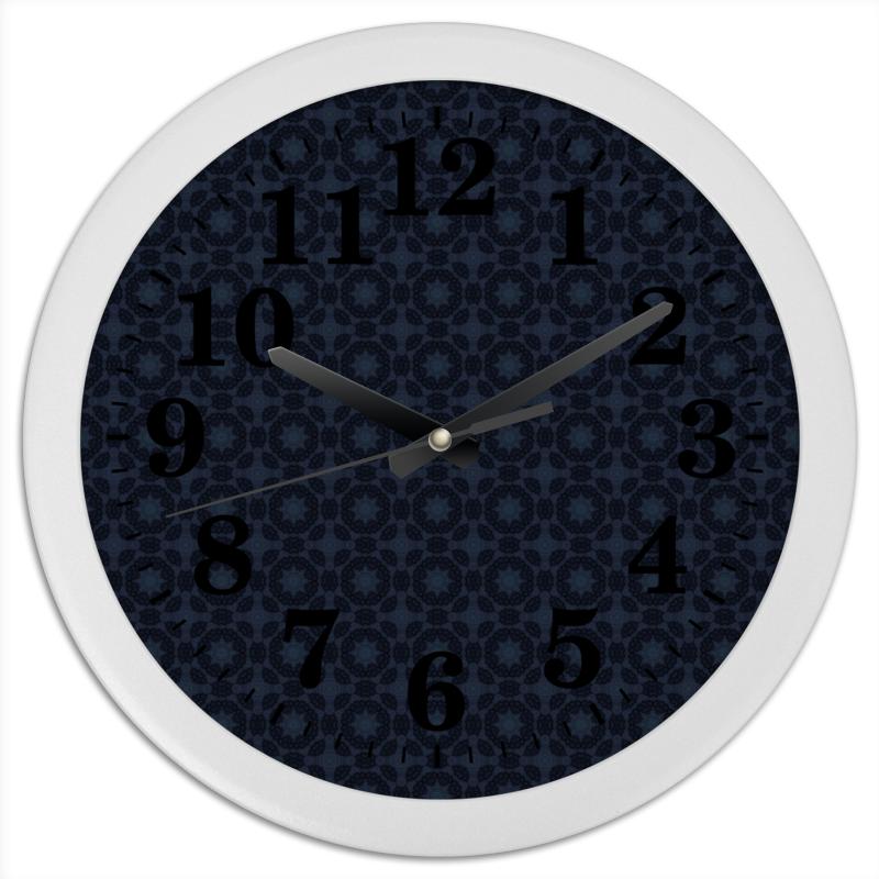 Часы круглые из пластика Printio Radar