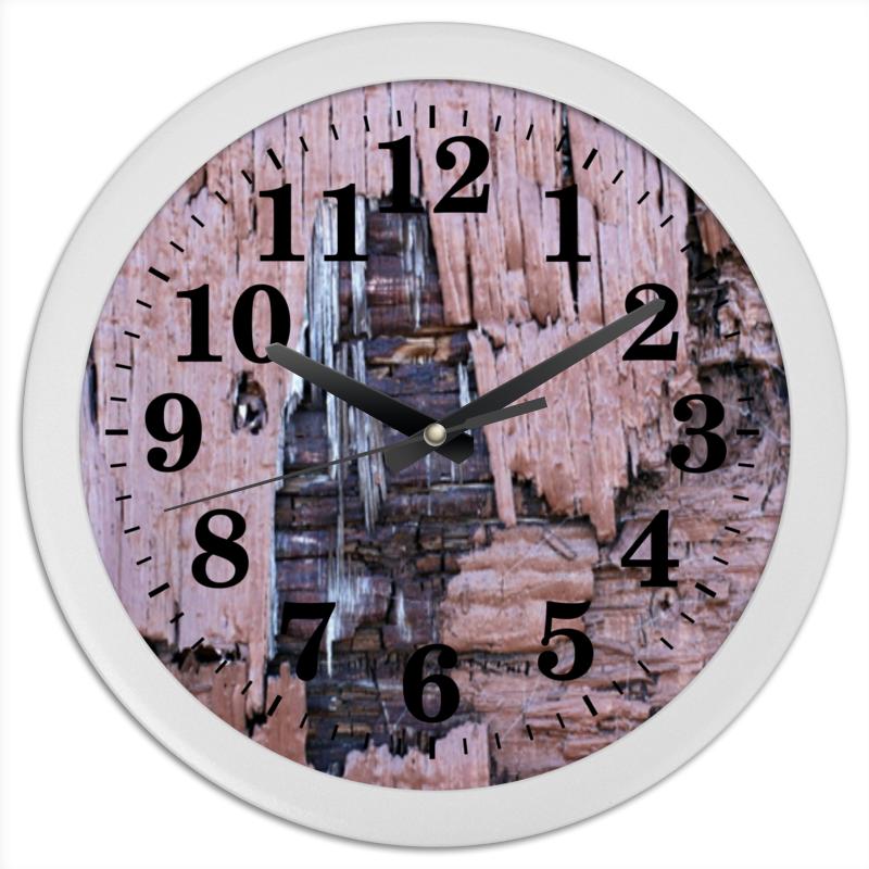 Часы круглые из пластика Printio деревянная часы круглые из пластика printio котенок в кружке