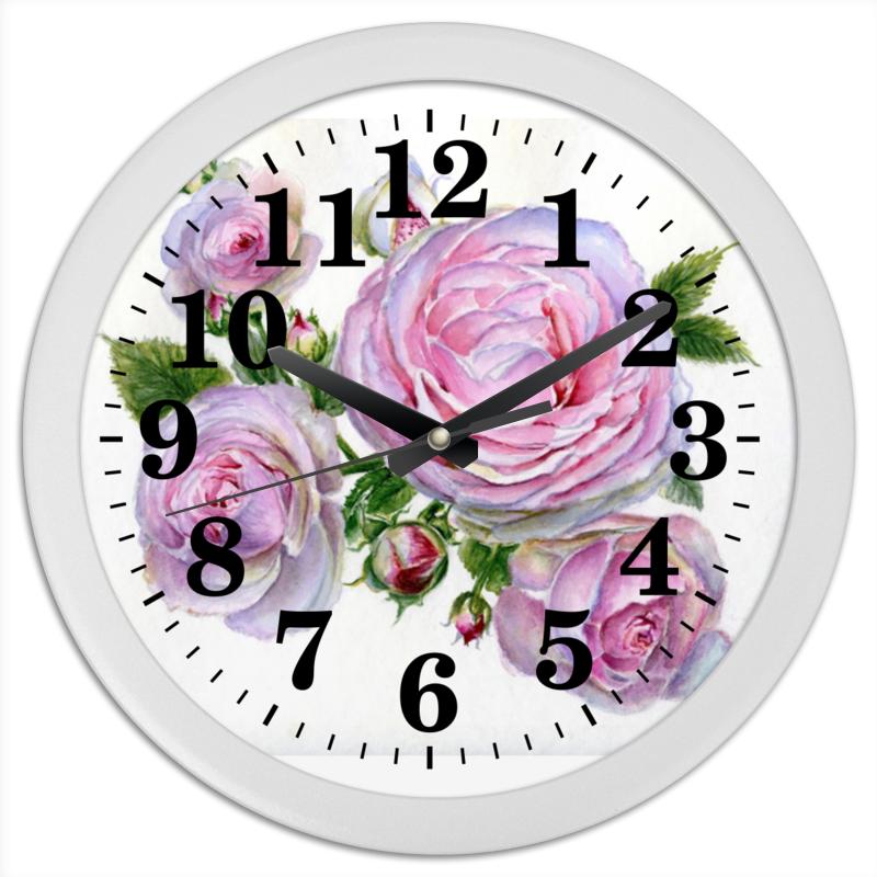 Часы круглые из пластика Printio Божественный аромат конфеты круглые с ромом купить в иркутске