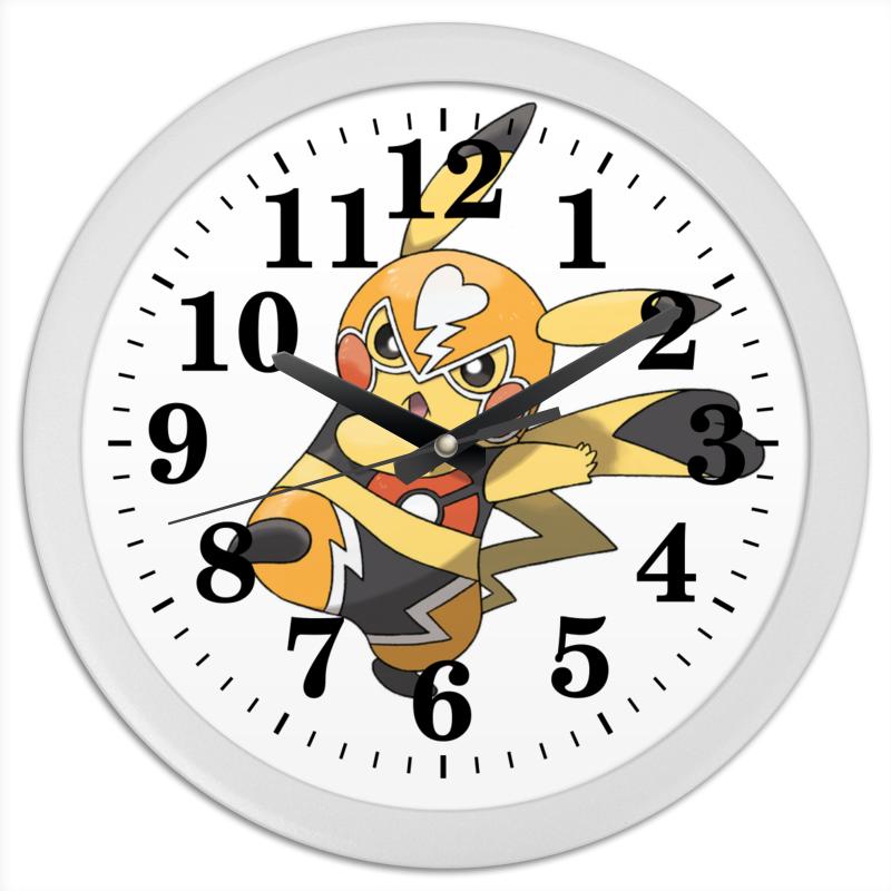 Часы круглые из пластика Printio Pokemontime конфеты круглые с ромом купить в иркутске