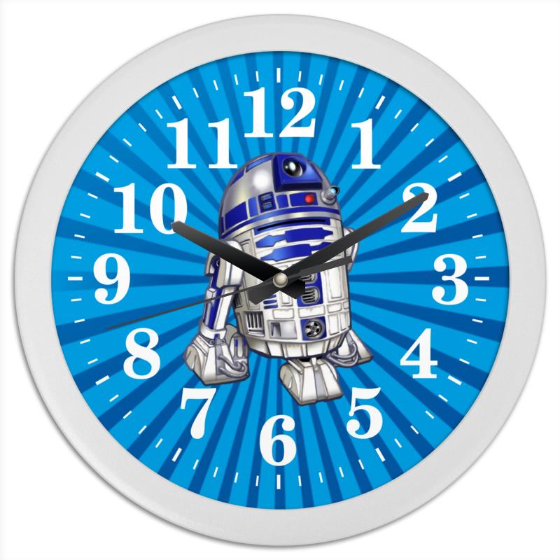 Часы круглые из пластика Printio R2d2 (starwars) крем тирамису d r oetker 64 гр