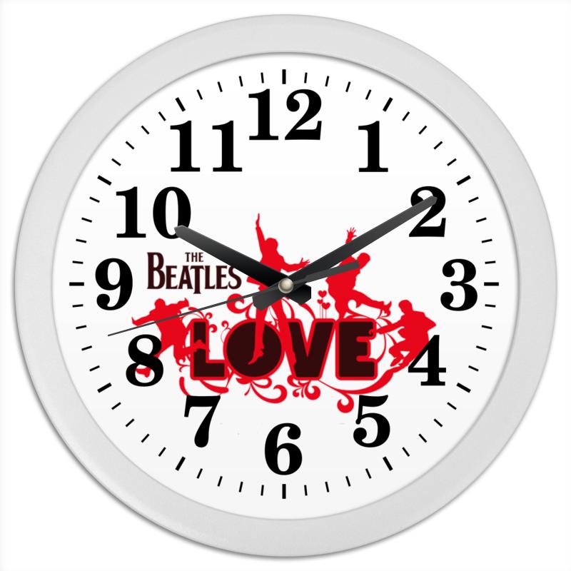 Часы круглые из пластика Printio Beatles beatles beatles anthology 3 3 lp