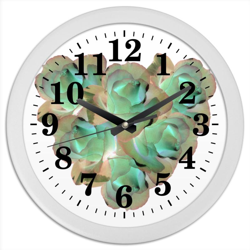 Часы круглые из пластика Printio Холодное сердце