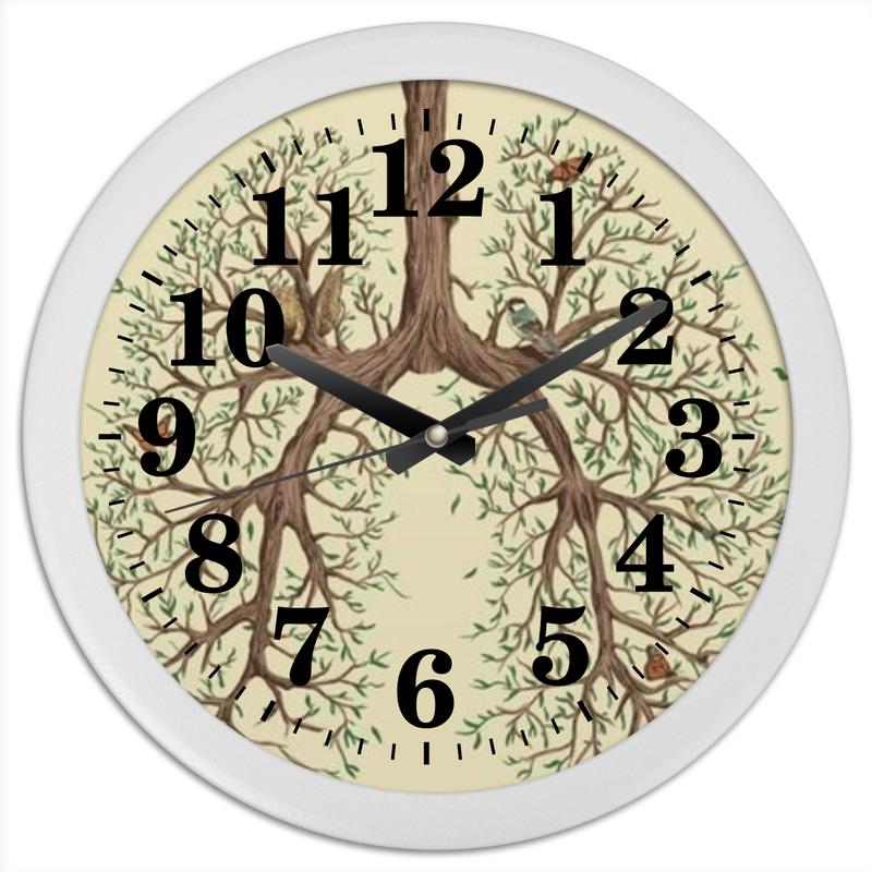 Часы круглые из пластика Printio Легкие сергей галиуллин чувство вины илегкие наркотики