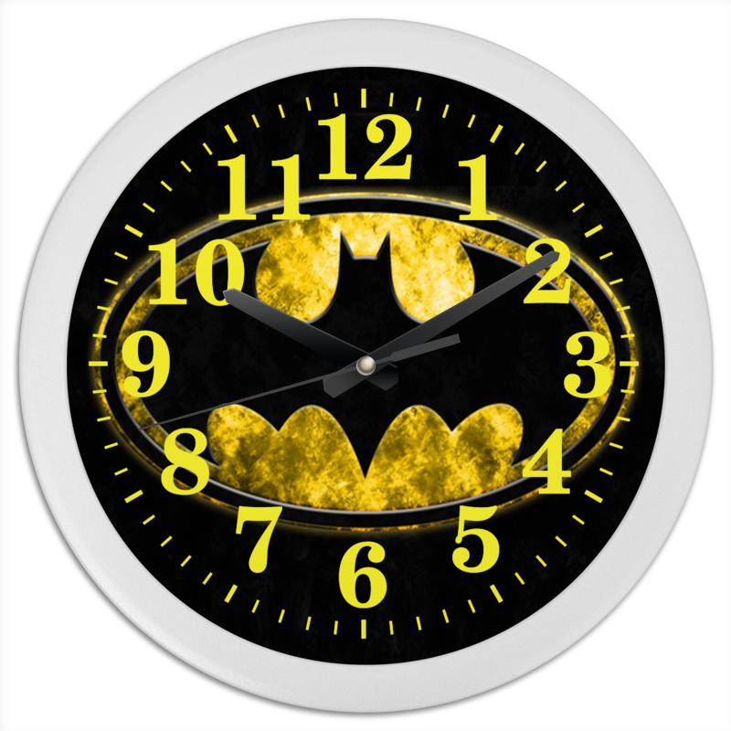 Часы круглые из пластика Printio Часы batman часы круглые из пластика printio настенные часы