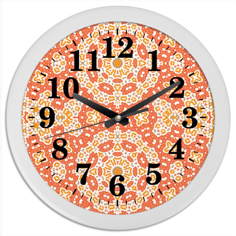 Часы круглые из пластика Printio Sunny брюссельская капуста 500 г
