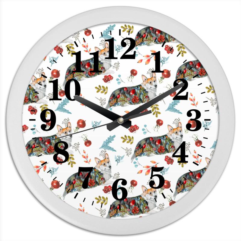 Часы круглые из пластика Printio Осенний вальс карнизы и аксессуары для штор arcodoro наконечник для карнизов осенний вальс цвет белое золото page 2