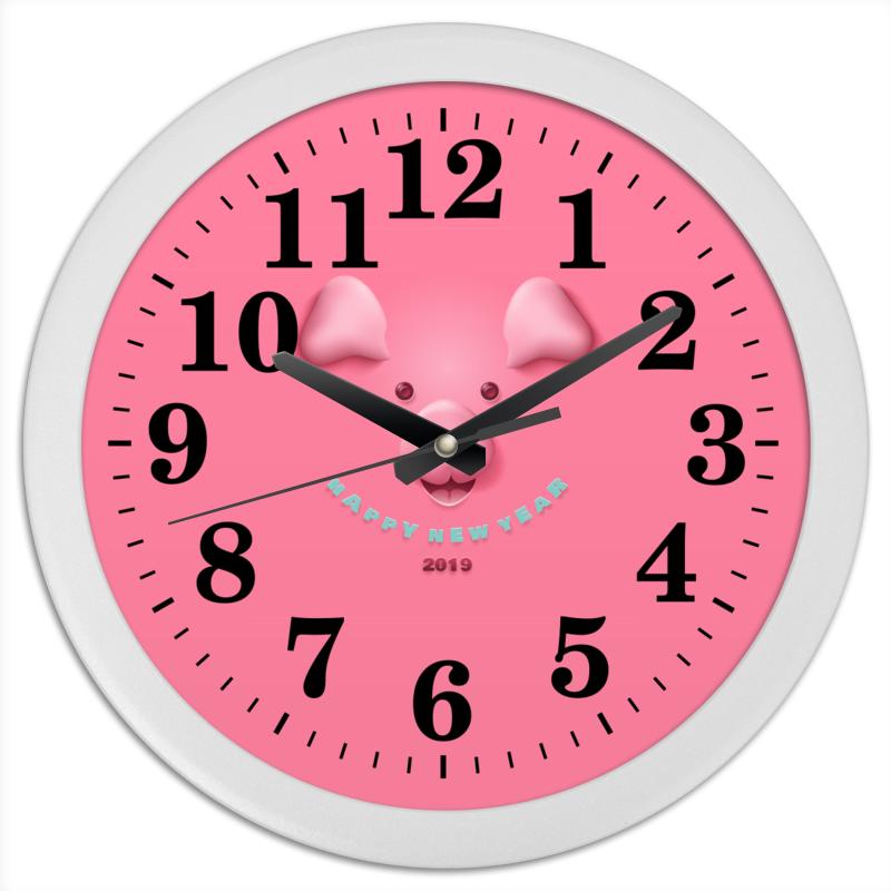 Часы круглые из пластика Printio Новый год часы я zhuolun мужские часы 2017 новый простой корейский моды большой набор новый yzl0558th 2 page 4