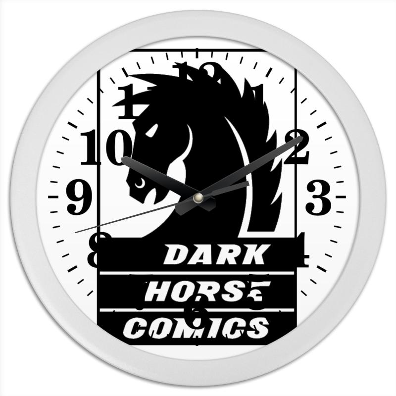 Часы круглые из пластика Printio Dark horse comics часы круглые из дерева printio dark horse comics