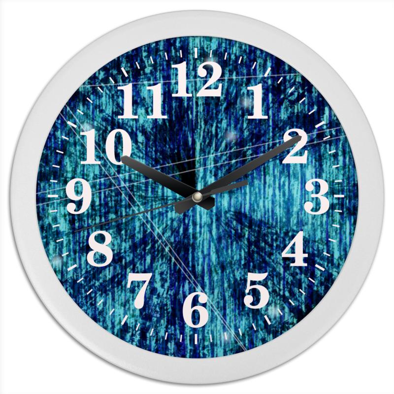 Часы круглые из пластика Printio Футуристическая психоделика конфеты круглые с ромом купить в иркутске