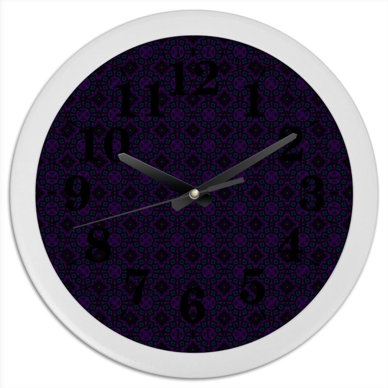Часы круглые из пластика Printio In garden пудовъ ржаной хлеб с клюквой и анисом 500 г
