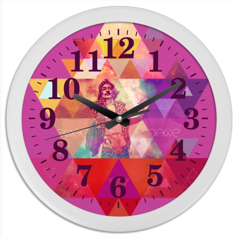Часы круглые из пластика Printio hipsta swag collection: salvador dali