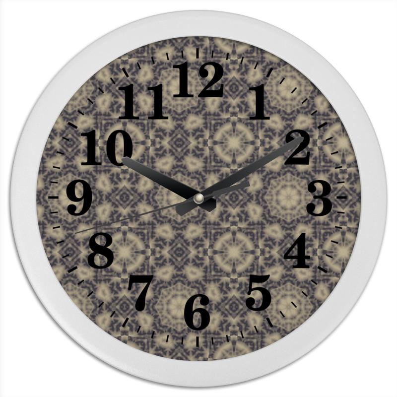 Часы круглые из пластика Printio Noisy пудовъ ржаной хлеб с клюквой и анисом 500 г