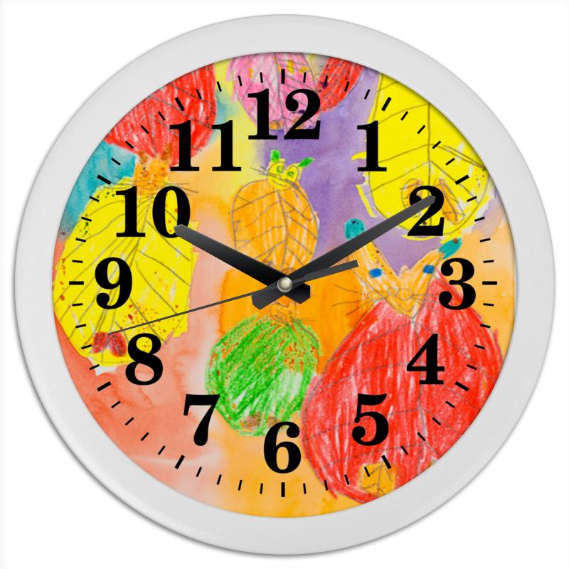 Часы круглые из пластика Printio Часы с кошками часы chronotech часы элитные