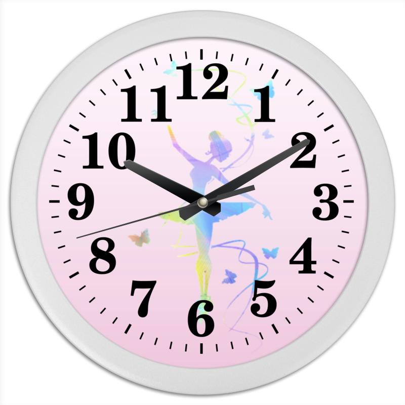Часы круглые из пластика Printio Балерина lorado персики половинки в легком сиропе 850 мл