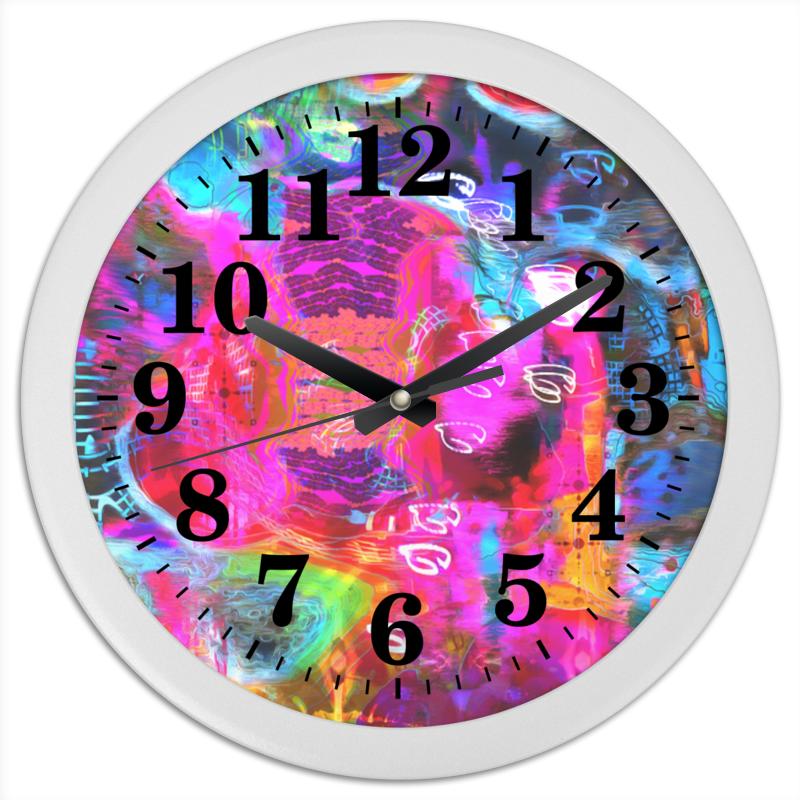Часы круглые из пластика Printio Abstract raster 372 printer raster film tape encoder strip for roland xc rs vs fj740 fj540 sj740 sj540 sp300 sp540 vp300 vp540 sc540f 98 5 inch