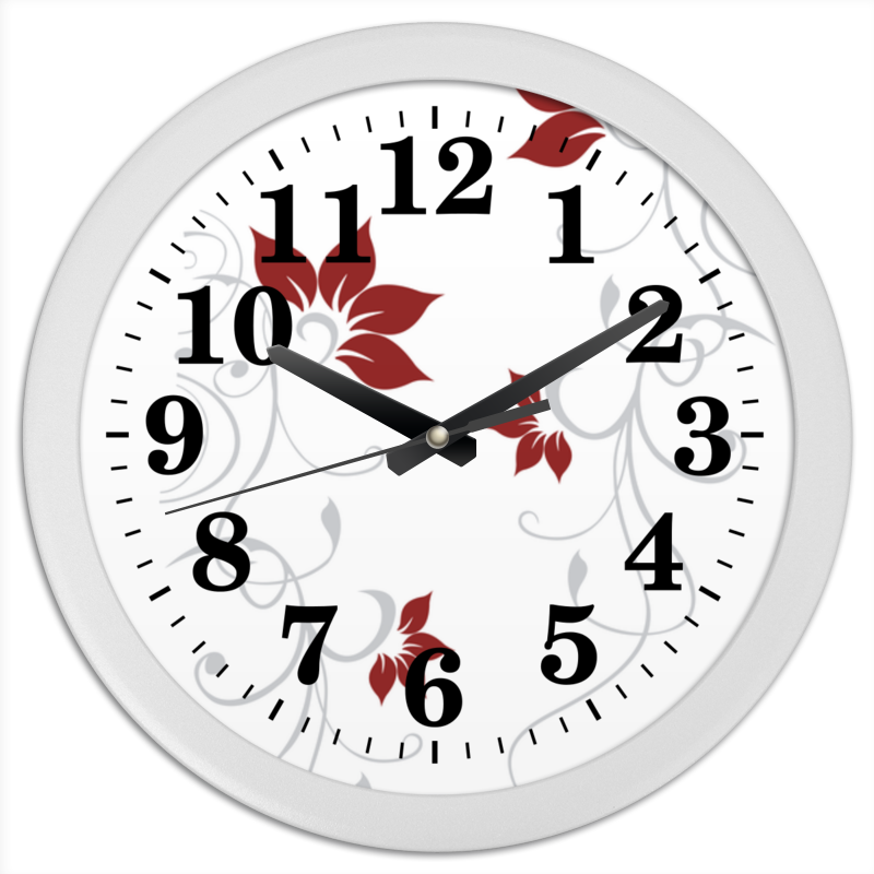 Часы круглые из пластика Printio Завиток whorl часы круглые из пластика printio мишень