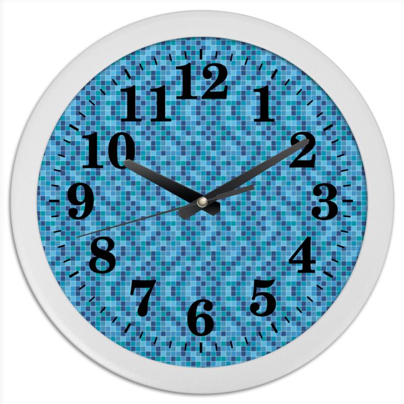 Часы круглые из пластика Printio Мозайка часы круглые из пластика printio котенок в кружке