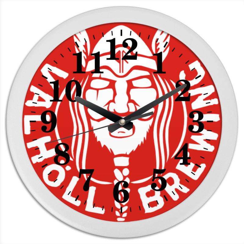 Часы круглые из пластика Printio Время викингов! хейвуд джон люди севера история викингов 793 1241