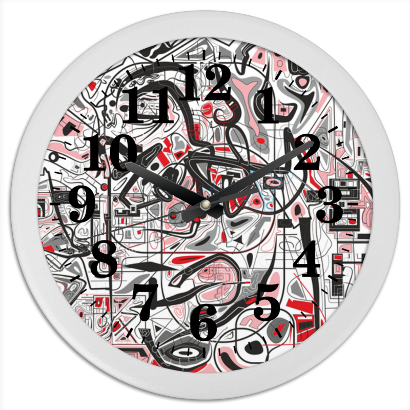 Часы круглые из пластика Printio Mamewax сумка printio чаепитие