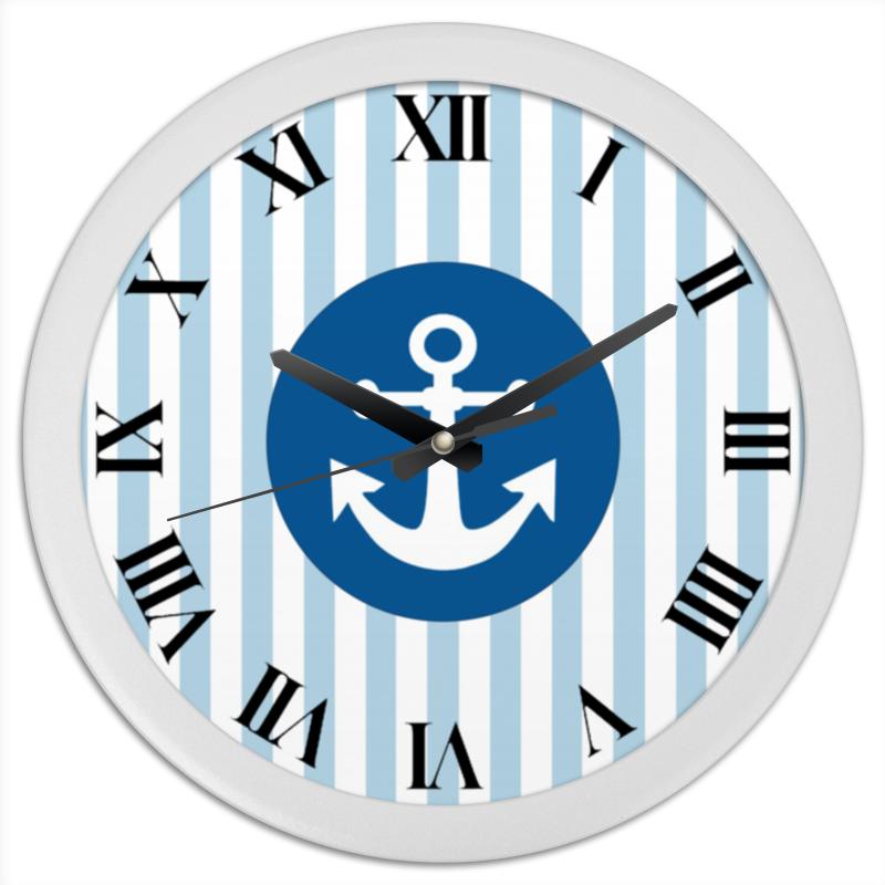 Часы круглые из пластика Printio Морской волк часы круглые из пластика printio серый волк
