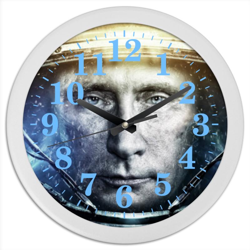 Часы круглые из пластика Printio Путин лэндон д скандальная куртизанка