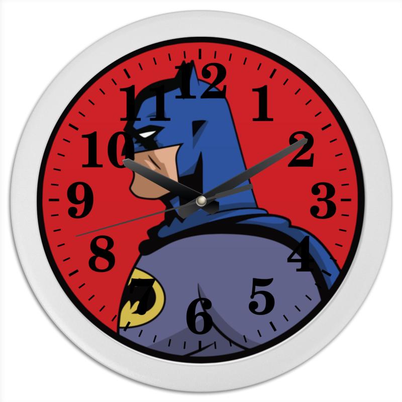 Часы круглые из пластика Printio Batman / бэтмен часы круглые из пластика printio день победы