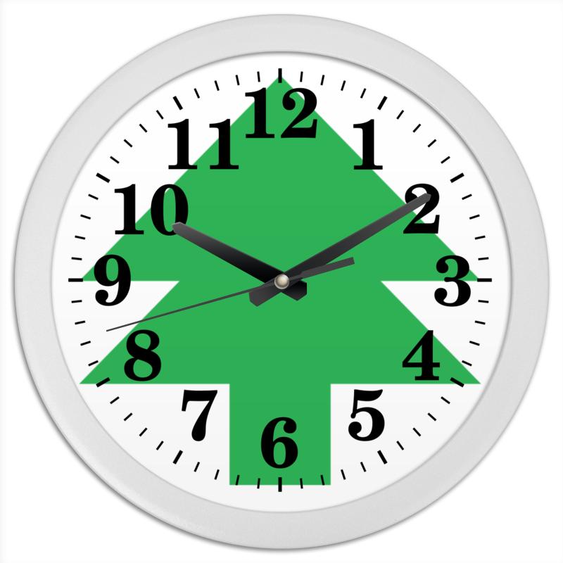 Часы круглые из пластика Printio Ёлка танграм lorado персики половинки в легком сиропе 850 мл