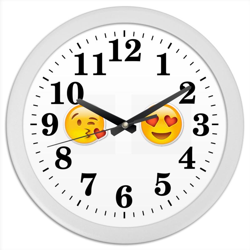 Часы круглые из пластика Printio Сма́йлик часы круглые из пластика printio сма́йлик
