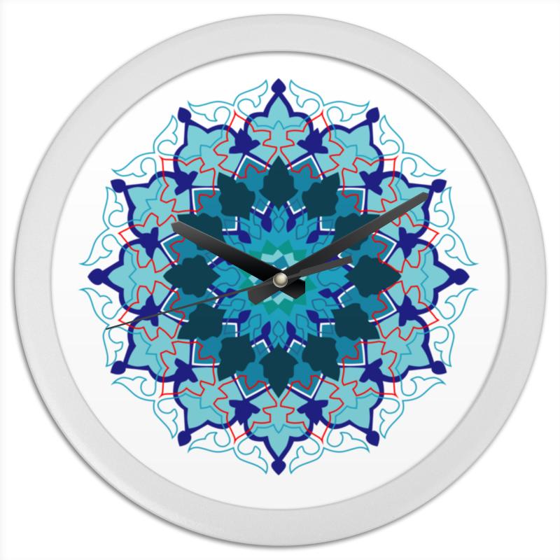 Часы круглые из пластика Printio Мандала для дома конфеты круглые с ромом купить в иркутске
