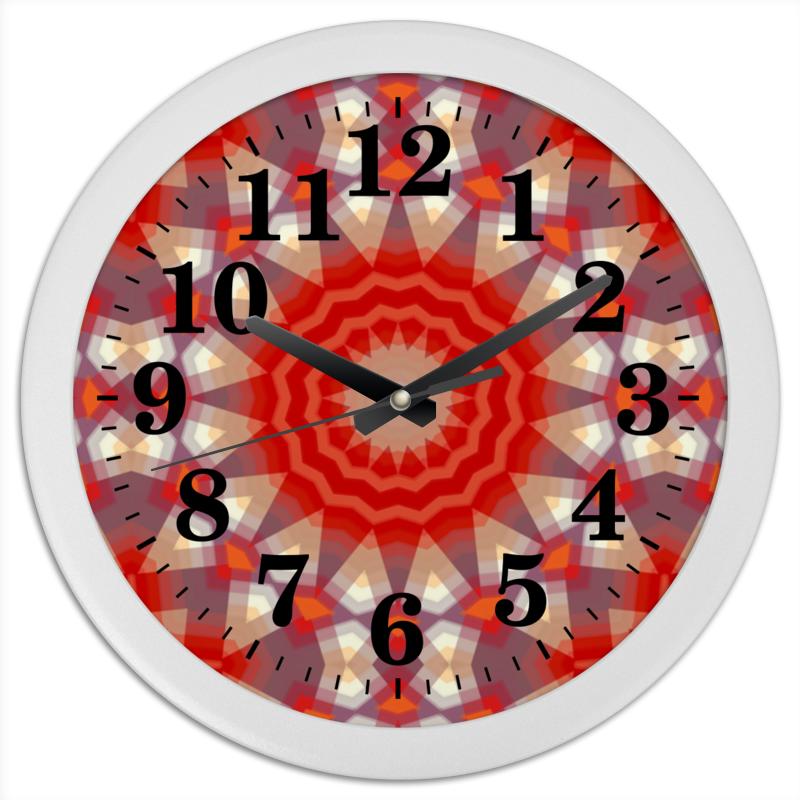 Часы круглые из пластика Printio Sihaya цена