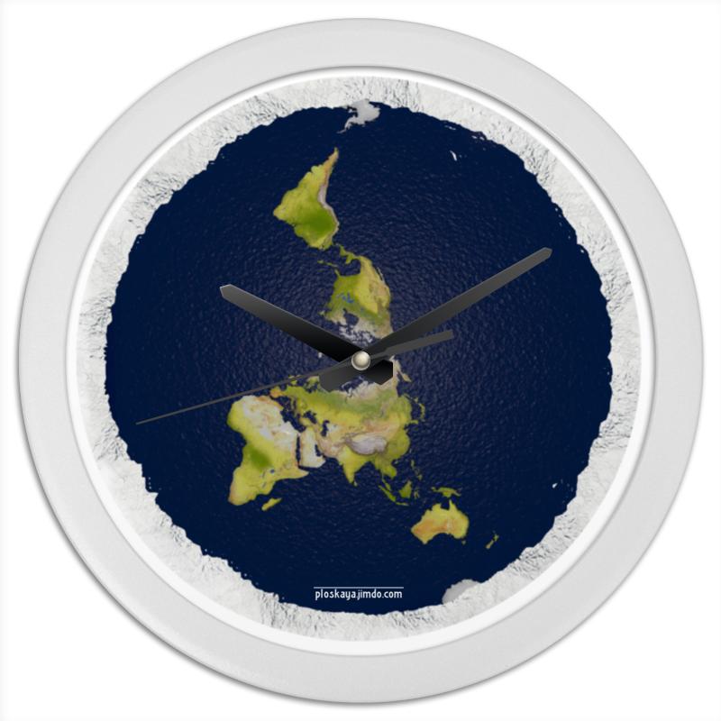 Часы круглые из пластика Printio