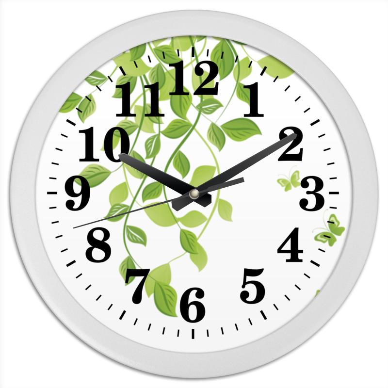 Часы круглые из пластика Printio Лето. summer чехол для ноутбука 14 printio лето summer