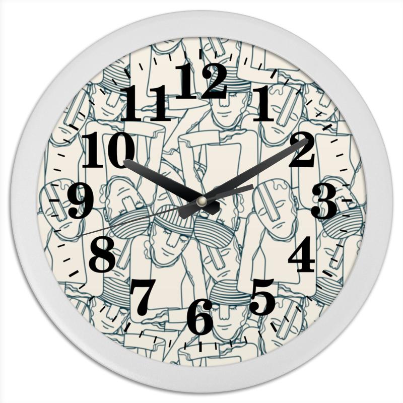 все цены на Часы круглые из пластика Printio
