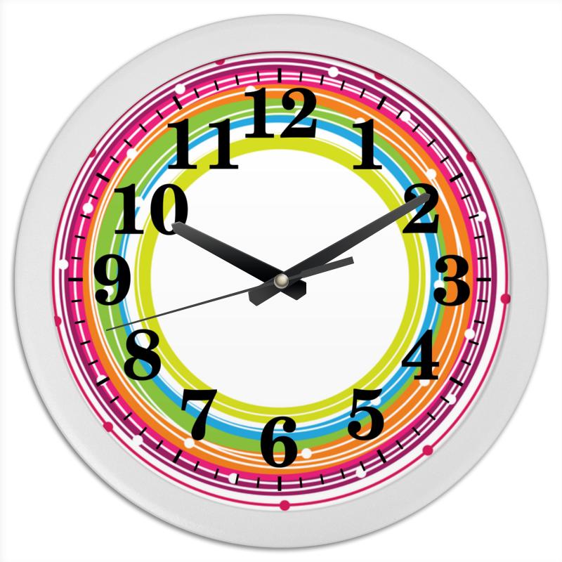 Часы круглые из пластика Printio Кольца нубелунгов нож marttiini skinner