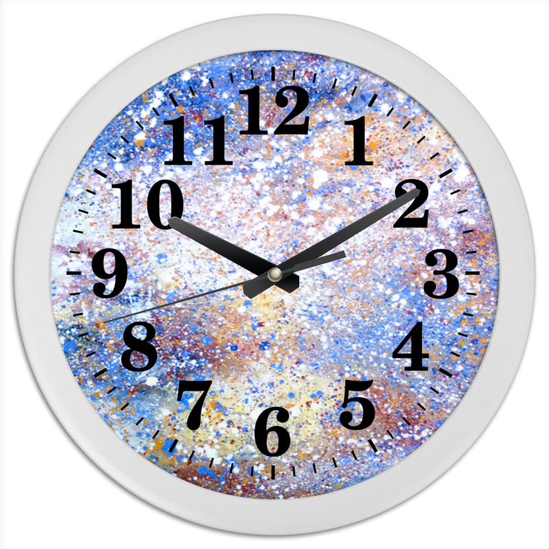 Часы круглые из пластика Printio Магелланово облако 2 набор bebe confort из 2 нагрудничков