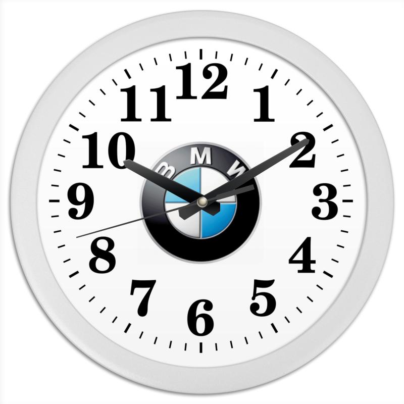 Часы круглые из пластика Printio Бмв - бмв бмв 1995 г в ставрополе