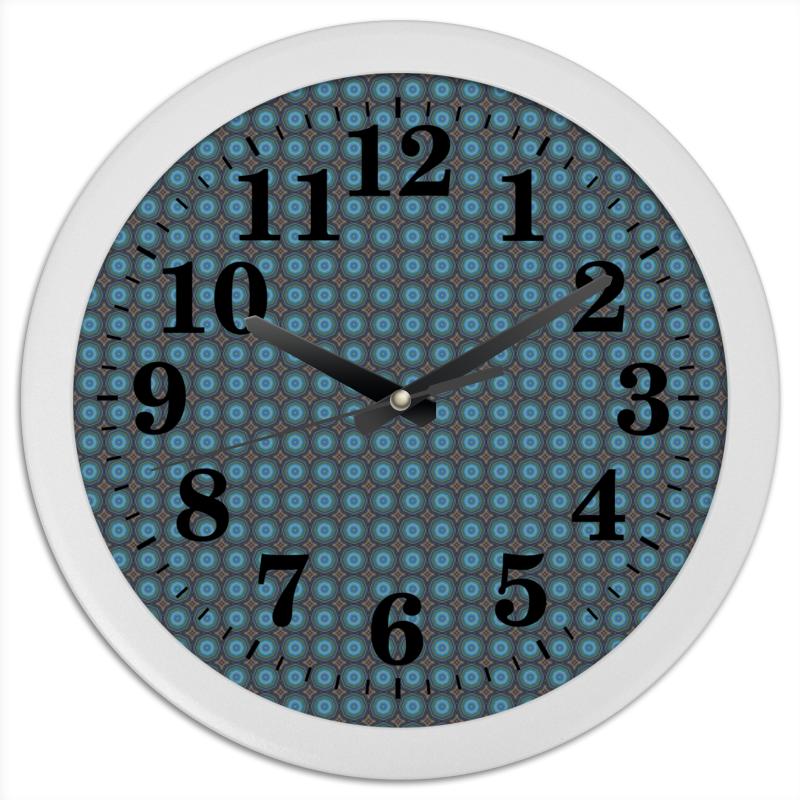 Часы круглые из пластика Printio Detroit часы круглые из дерева printio detroit