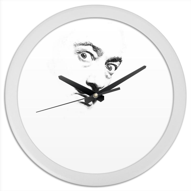 Часы круглые из пластика Printio Dali clock часы круглые из пластика printio fish bus рытобус рыба автобус