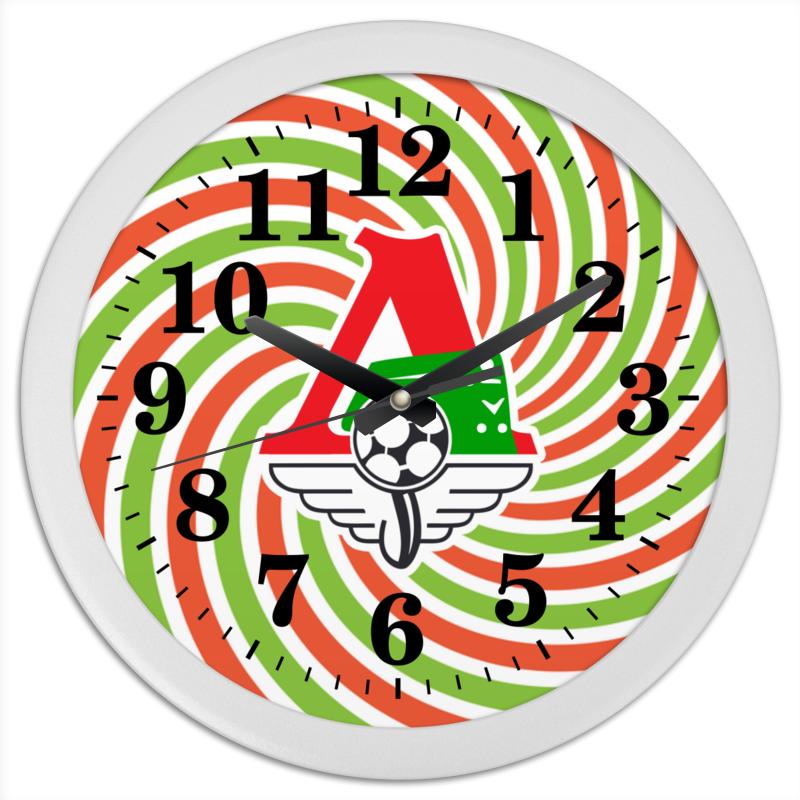 Часы круглые из пластика Printio Локомотив часы квадратные из пластика под дерево printio in garden