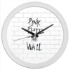 """Часы круглые из пластика """"Pink Floyd"""" - рок, pink floyd, прогрессивный рок, the wall"""