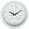"""Часы круглые из пластика """"арифметик"""" - геометрия, школа, алгебра, матиматика"""