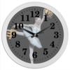 "Часы круглые из пластика ""DemuraClock"" - демура, степан демура, demura clock, часі демура"