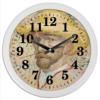 """Часы круглые из пластика """"Винсент ван Гог (автопортрет)"""" - картина, ван гог, живопись, гетерохромия"""